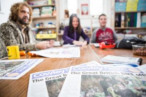 Creating community newspaper oxford